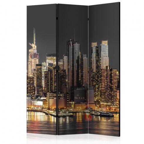 Paraván - New York at Twilight  [Room Dividers] 3 részes  135x172 cm  -  ajandekpont.hu