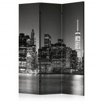 Paraván - New York Nights  [Room Dividers] 3 részes  135x172 cm
