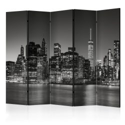 Paraván - New York Nights II [Room Dividers] 5 részes  225x172 cm