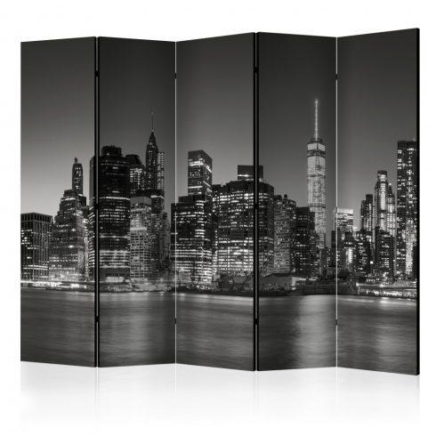 Paraván - New York Nights II [Room Dividers] 5 részes  225x172 cm  -  ajandekpont.hu