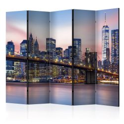 Paraván - City of Dreams ll [Room Dividers] 5 részes 225x172 cm