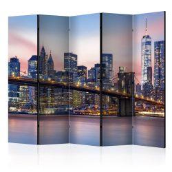 Paraván - City of Dreams ll [Room Dividers] 5 részes 225x172 cm