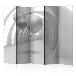 Paraván - White Tunnel II [Room Dividers] 5 részes 225x172 cm