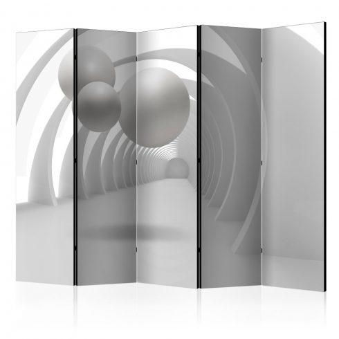 Paraván - White Tunnel II [Room Dividers] 5 részes 225x172 cm  -  ajandekpont.hu
