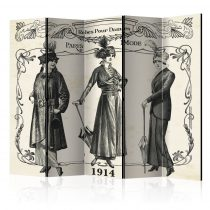 Paraván - Dress 1914 II [Room Dividers] 5 részes 225x172 cm