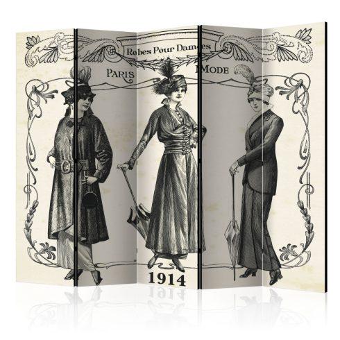 Paraván - Dress 1914 II [Room Dividers] 5 részes 225x172 cm  -  ajandekpont.hu