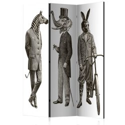 Paraván - Elegant Zoo [Room Dividers] 3 részes  135x172 cm