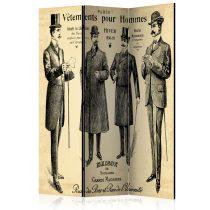 Paraván - Vêtements pour Homme [Room Dividers] 3 részes  135x172 cm