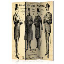 Paraván - Vêtements pour Homme [Room Dividers] 3 részes  135x172 cm  -  ajandekpont.hu