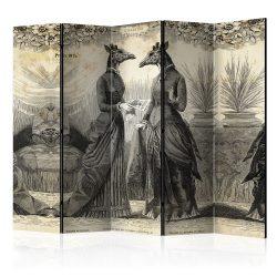 Paraván - Conversation II [Room Dividers] 5 részes 225x172 cm