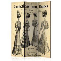 Paraván - Confections pour Dames [Room Dividers] 3 részes  135x172 cm  -  ajandekpont.hu