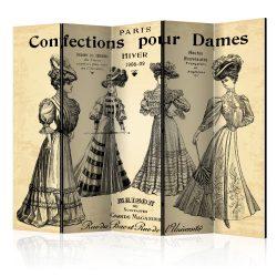 Paraván - Confections pour Dames II [Room Dividers] 5 részes 225x172 cm