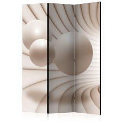 Paraván - Balls in the Tunnel [Room Dividers] 3 részes  135x172 cm