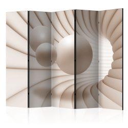Paraván - Balls in the Tunnel II [Room Dividers] 5 részes 225x172 cm