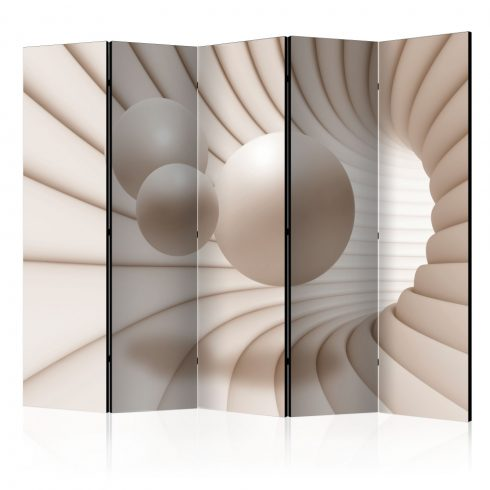 Paraván - Balls in the Tunnel II [Room Dividers] 5 részes 225x172 cm  -  ajandekpont.hu