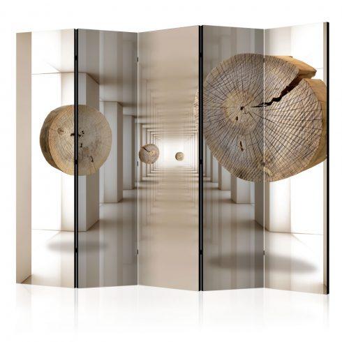 Paraván - Futuristic Forest II [Room Dividers] 5 részes 225x172 cm  -  ajandekpont.hu
