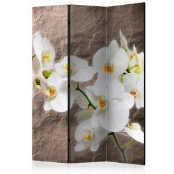 Paraván - Impeccability of the Orchid [Room Dividers] 3 részes  135x172 cm