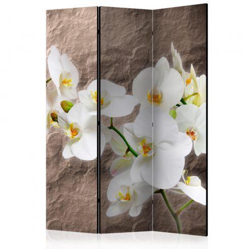 Paraván - Impeccability of the Orchid [Room Dividers] 3 részes  135x172 cm  -  ajandekpont.hu