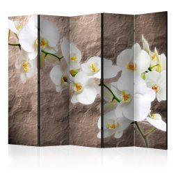 Paraván - Impeccability of the Orchid II [Room Dividers] 5 részes 225x172 cm
