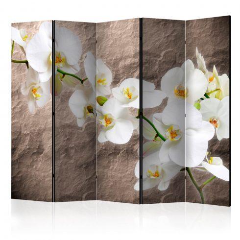 Paraván - Impeccability of the Orchid II [Room Dividers] 5 részes 225x172 cm  -  ajandekpont.hu