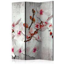 Paraván - Concrete Orchid [Room Dividers] 3 részes  135x172 cm