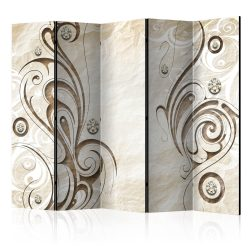 Paraván - Stone Butterfly II [Room Dividers] 5 részes 225x172 cm