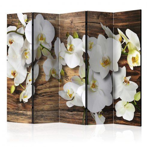 Paraván - Forest Orchid II [Room Dividers] 5 részes 225x172 cm  -  ajandekpont.hu