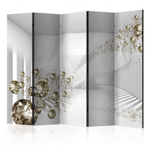 Paraván - Diamond Corridor II [Room Dividers] 5 részes 225x172 cm  -  ajandekpont.hu