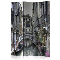 Paraván - Romantic Venice [Room Dividers] 3 részes  135x172 cm