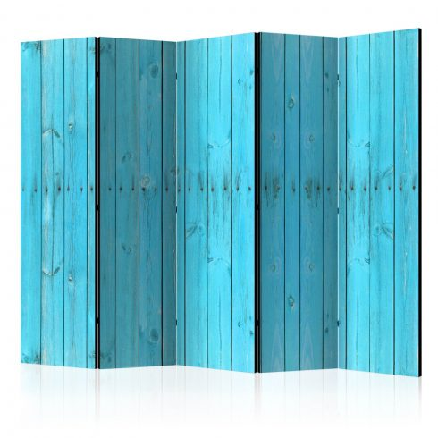 Paraván - The Blue Boards II [Room Dividers] 5 részes 225x172 cm  -  ajandekpont.hu