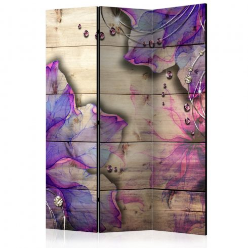 Paraván - Purple Memory [Room Dividers] 3 részes  135x172 cm  -  ajandekpont.hu
