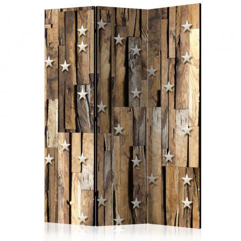 Paraván - Wooden Constellation [Room Dividers] 3 részes  135x172 cm  -  ajandekpont.hu