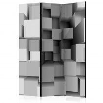 Paraván - Geometric Puzzle [Room Dividers] 3 részes  135x172 cm  -  ajandekpont.hu