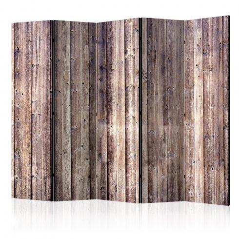 Paraván - Wooden Charm II [Room Dividers] 5 részes 225x172 cm  -  ajandekpont.hu