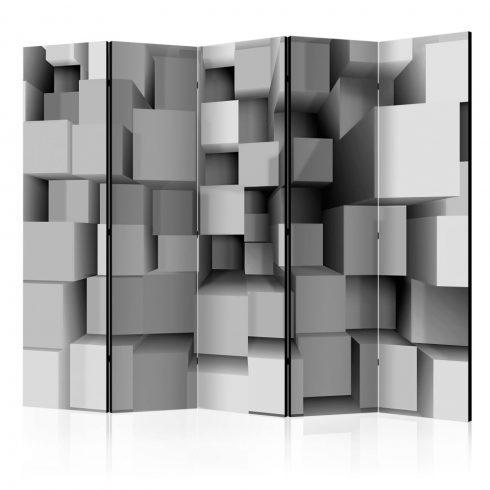 Paraván - Geometric Puzzle II [Room Dividers] 5 részes 225x172 cm  -  ajandekpont.hu