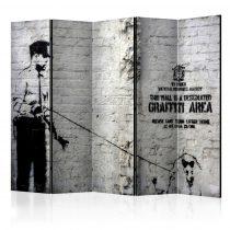 Paraván - Graffiti Area [Room Dividers] 5 részes 225x172 cm