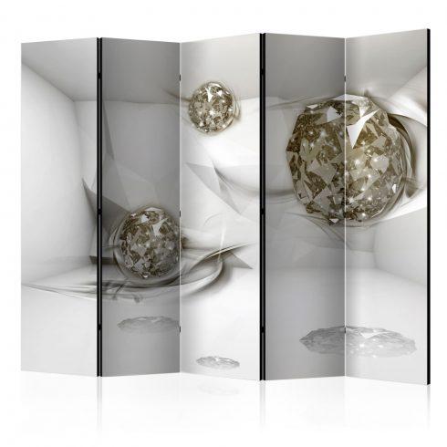 Paraván - Abstract Diamonds II [Room Dividers] 5 részes 225x172 cm  -  ajandekpont.hu