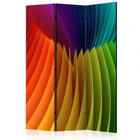 Paraván - Rainbow Wave [Room Dividers] 3 részes  135x172 cm  -  ajandekpont.hu
