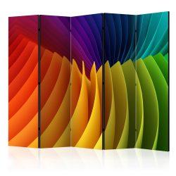 Paraván - Rainbow Wave II [Room Dividers] 5 részes 225x172 cm
