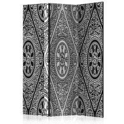 Paraván - Ethnic Monochrome [Room Dividers] 3 részes  135x172 cm