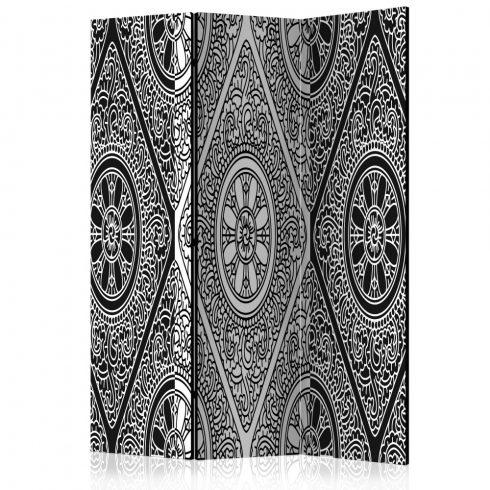 Paraván - Ethnic Monochrome [Room Dividers] 3 részes  135x172 cm  -  ajandekpont.hu