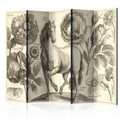 Paraván - Horse II [Room Dividers] 5 részes 225x172 cm