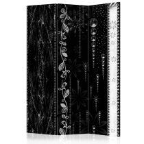 Paraván - Black Elegance [Room Dividers] 3 részes  135x172 cm