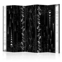 Paraván - Black Elegance II [Room Dividers] 5 részes 225x172 cm