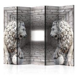 Paraván - Stone Lions II [Room Dividers] 5 részes 225x172 cm
