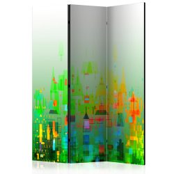 Paraván - Abstract City [Room Dividers] 3 részes  135x172 cm
