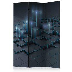Paraván - Black City [Room Dividers] 3 részes  135x172 cm