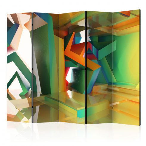 Paraván - Colourful Space II [Room Dividers] 5 részes 225x172 cm  -  ajandekpont.hu