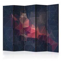 Paraván - Abstract Bird II [Room Dividers] 5 részes 225x172 cm