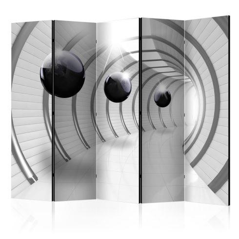 Paraván - Futuristic Tunnel II [Room Dividers] 5 részes 225x172 cm  -  ajandekpont.hu